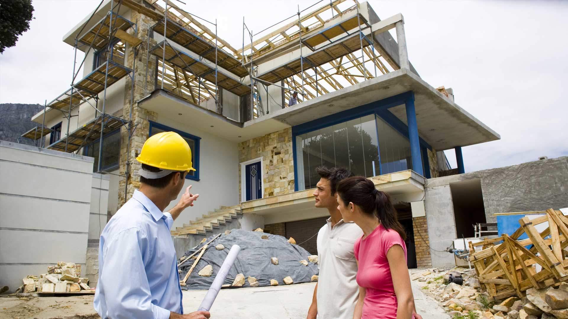 construction company building custom homes