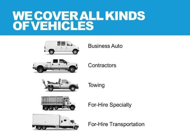 commercial auto mobile truck van insurance