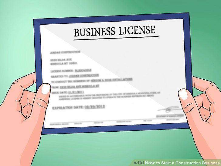contractor business license and bonding