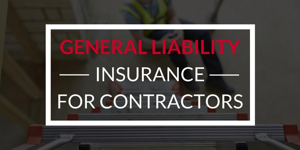 contractors general liability insurance