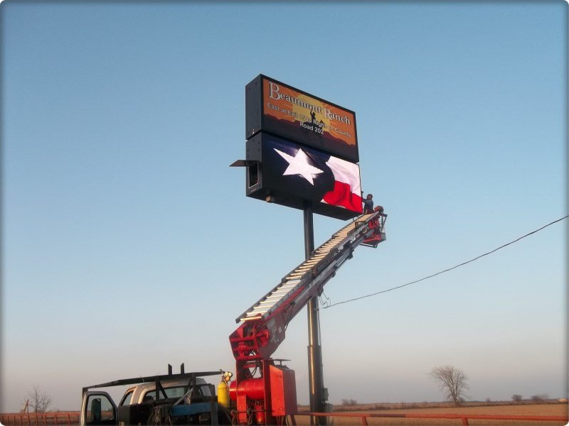 digital sign Installation contractor